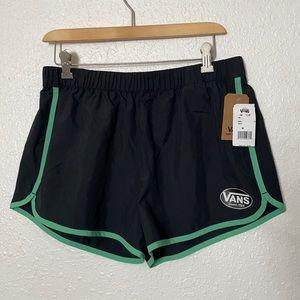 Vans Women's black athletic shorts size M